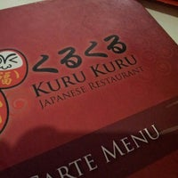 Photo taken at Kuru Kuru Japanese Restaurant by Andi S. on 6/8/2014