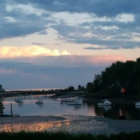 Photo taken at Nonantum Resort by Sam H. on 8/5/2015