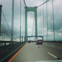 Photo taken at Delaware Memorial Bridge by D. Archibald S. on 7/4/2013