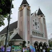 Photo taken at Gereja Katolik Katedral Santa Perawan Maria Dari Gunung Karmel by Endang S. on 9/24/2016