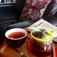 Photo taken at Kaldi's Coffee House by Cheryl R. on 6/18/2013
