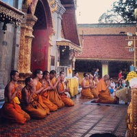 Photo taken at Wat Phrathat Doi Suthep by Winnie S. on 3/10/2013