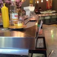 Photo taken at Sushi Sakura by Katelyn on 10/9/2014