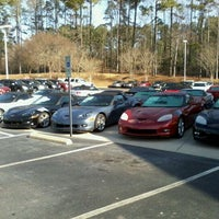 Photo taken at Hendrick Chevrolet by James M. on 3/6/2012