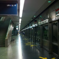 Photo taken at Braddell MRT Station (NS18) by chacha e. on 2/21/2012