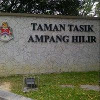 Photo taken at Taman Tasik Ampang Hilir by Fendy Z. on 8/6/2012
