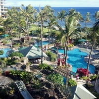 Photo taken at Marriott's Maui Ocean Club  - Lahaina & Napili Towers by Mark P. on 7/1/2012