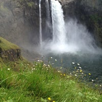 Photo taken at Snoqualmie Falls by Julia W. on 8/8/2012