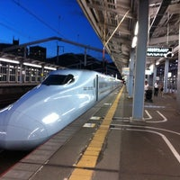 Photo taken at Shin-Shimonoseki Station by kaoru on 8/1/2012