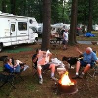 Photo taken at NASCAR RV Resorts at Adirondack Gateway by Eric D. on 7/11/2012