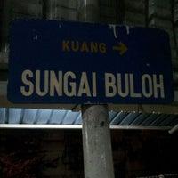 Photo taken at KTM Line - Sungai Buloh Station (KA08) by Sukri D. on 5/31/2012