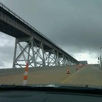 Photo taken at Huey P. Long Bridge by Zachary C. on 6/10/2012