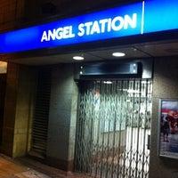 Photo taken at Angel London Underground Station by Senator F. on 8/13/2012