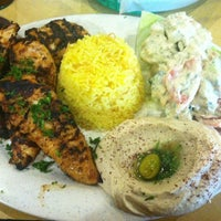 Photo taken at Aladdin's Mediterranean Grill & Deli by Holly P. on 6/29/2012