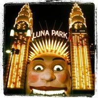 Photo taken at Luna Park by Alex G. on 4/14/2012