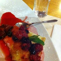 Photo taken at Crepes & Waffles by iOscarQ on 9/6/2012