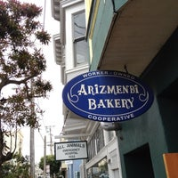 Photo taken at Arizmendi Bakery by Jack W. on 8/31/2012