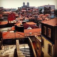 Photo taken at Miradouro da Vitoria by Omar T. on 6/23/2012