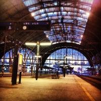 Photo taken at Prague Main Railway Station by Vi L. on 8/16/2012