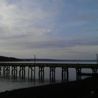 Photo taken at Allyn Waterfront Park by Kelly B. on 4/2/2012