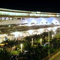 Photo taken at Chhatrapati Shivaji International Airport (BOM) by BKK_FLYER on 7/5/2012