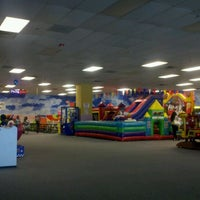 Photo taken at Bounce Realm by Rhonda M. on 4/14/2012
