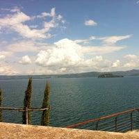 Photo taken at Lungolago Capodimonte by Ila B. on 5/16/2012