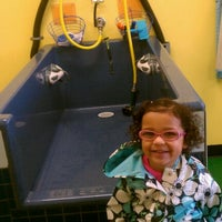 Photo taken at Sudsy's You Wash Dog Wash by Brei M. on 3/8/2012