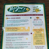 Photo taken at MoJoe's Burger Joint by @ExploreRaleigh on 7/4/2012
