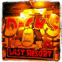 Photo taken at Dick's Last Resort by Cabin Fever Vacations .. on 7/25/2012