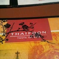 Photo taken at Thaifoon Taste of Asia by Kathy S. on 5/28/2012