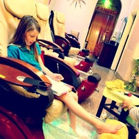 Photo taken at Happy Nails by Shelby B. on 12/4/2013