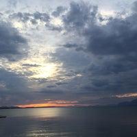 Photo taken at Liani Ammos Beach by Oksana D. on 6/5/2016