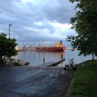 Photo taken at Canton Waterfront Park by Elliott P. on 5/11/2013