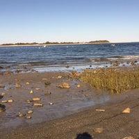 Photo taken at Pavillion Beach by Kim on 10/7/2015