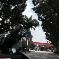 Photo taken at Caltex by Hus. on 6/20/2015