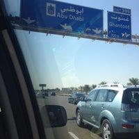 Photo taken at Abu Dhabi - Dubai Road by Myat M. on 1/2/2015
