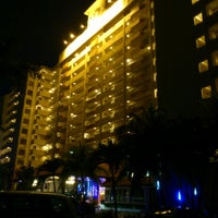 Photo taken at Glory Beach Resort by Alan S. on 10/26/2012