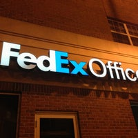 Photo taken at FedEx Office Print & Ship Center by Eric Z. on 1/10/2013
