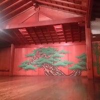 Photo taken at 山本能楽堂 by Takashi on 8/20/2014
