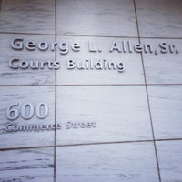Photo taken at George L. Allen Sr. Courts Building by Dijea on 12/3/2012