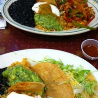 Photo taken at Villa Pancho Taqueria by Glossyvonne K. on 10/14/2012