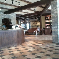 Photo taken at la Madeleine Country French Café by Nar on 6/20/2013