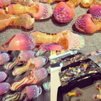 Photo taken at Hot Wax Glass by Hot W. on 8/27/2015
