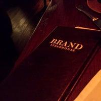 Photo taken at Brand Steakhouse & Lounge by David L. on 9/21/2013