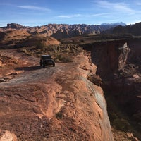 Photo taken at Poison Spider Mesa Trail by Marcus H. on 11/28/2014