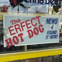 Photo taken at Hot Dog Heaven by Brian B. on 1/16/2013