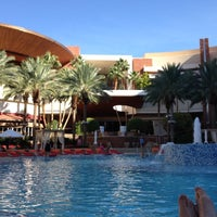 Photo taken at Red Rock Private Spa Pool by John B. on 9/21/2012