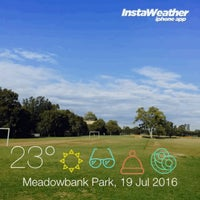 Photo taken at Meadowbank Park by Pavel 🏇🏇🏇 K. on 7/19/2016
