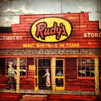 Photo taken at Rudy's Country Store & Bar-B-Q by Josh B. on 2/7/2013